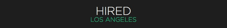 HIRED LA BLOG BANNER